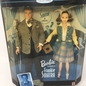 Collectible Barbie loves Frankie Sinatra